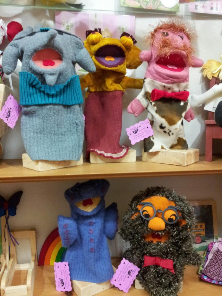 Puppets at Bloom